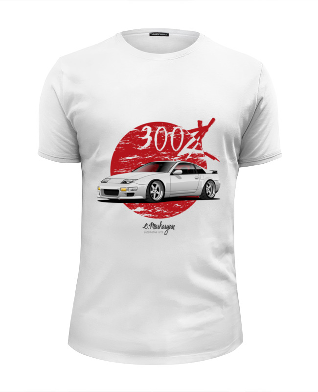 Printio Nissan 300zx футболка wearcraft premium slim fit printio nissan 180sx