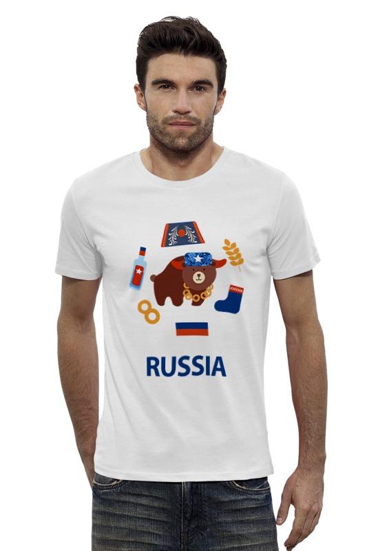 Футболка Wearcraft Premium Slim Fit Printio Россия (russia) футболка wearcraft premium printio россия украина