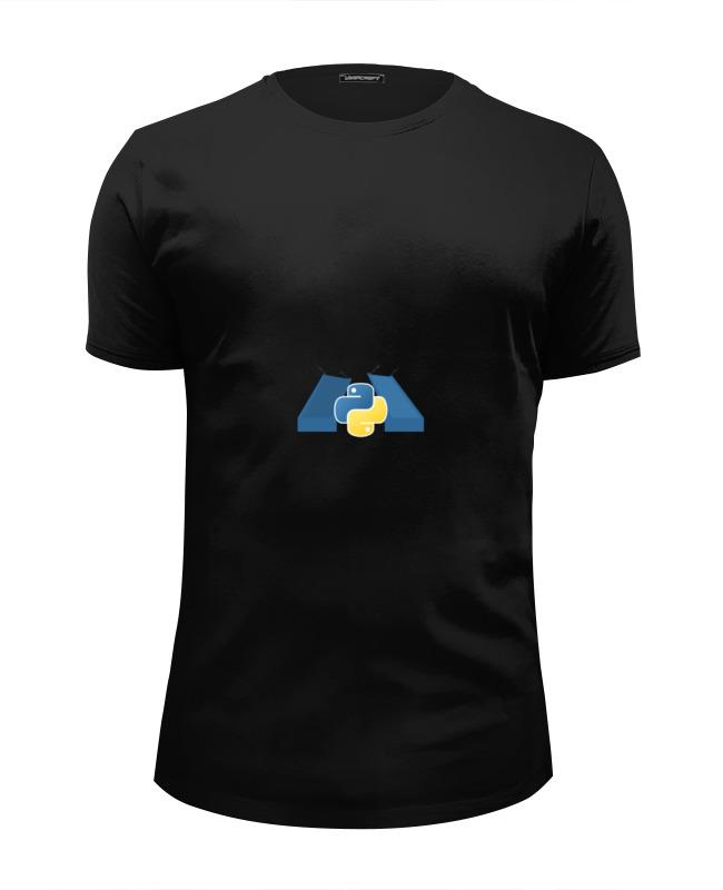 Футболка Wearcraft Premium Slim Fit Printio Spb python classic design premium man шапка унисекс с полной запечаткой printio spb python more than python hat