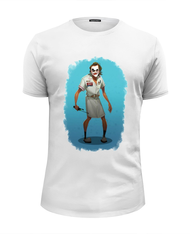 Printio Joker футболка wearcraft premium slim fit printio joker juice