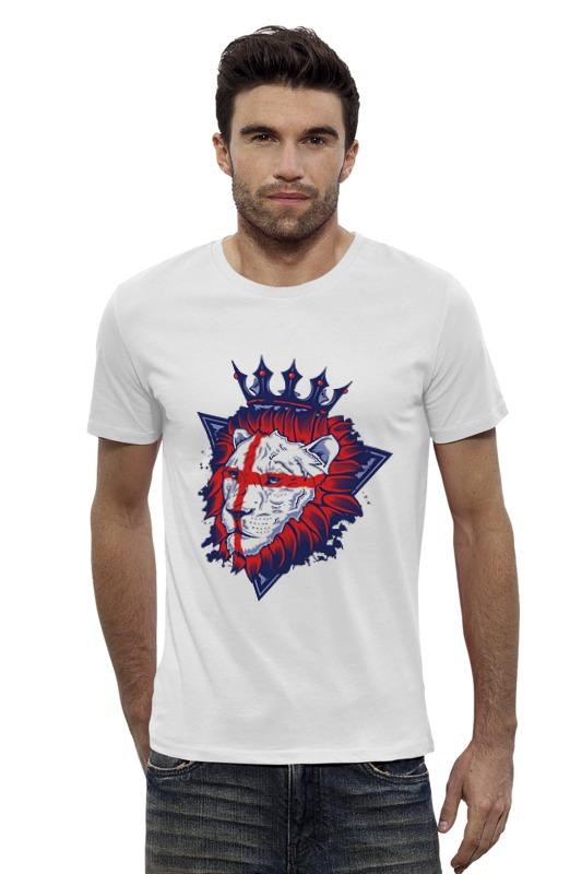 Футболка Wearcraft Premium Slim Fit Printio Король лев тарелка король лев диаметр 19 см