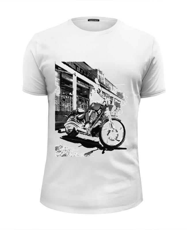 Футболка Wearcraft Premium Slim Fit Printio Мотоциклы футболка wearcraft premium printio мотоциклы