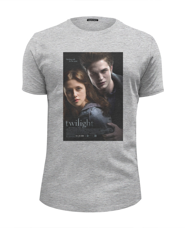 Футболка Wearcraft Premium Slim Fit Printio The twilight saga / сумерки цена