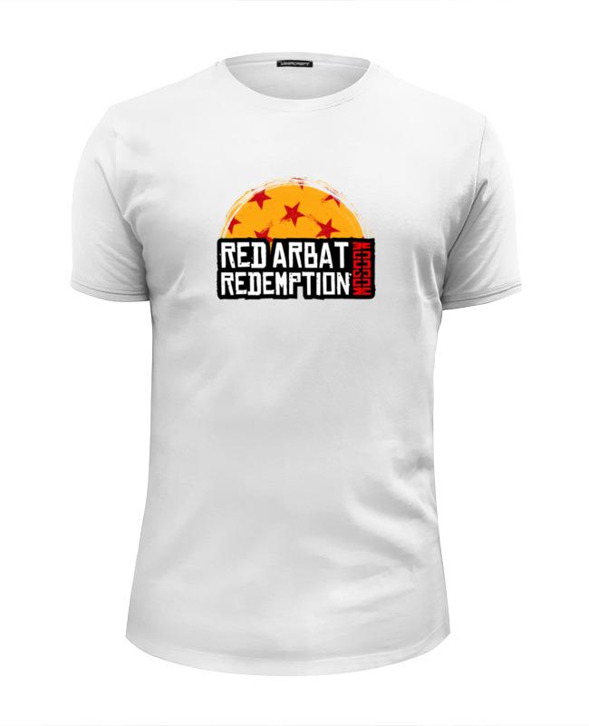 все цены на Футболка Wearcraft Premium Slim Fit Printio Red arbat moscow redemption онлайн