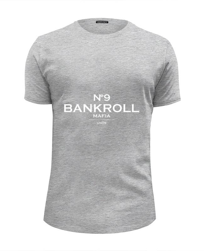 Футболка Wearcraft Premium Slim Fit Printio Bankroll mafia №9 футболка wearcraft premium slim fit printio mafia octavia
