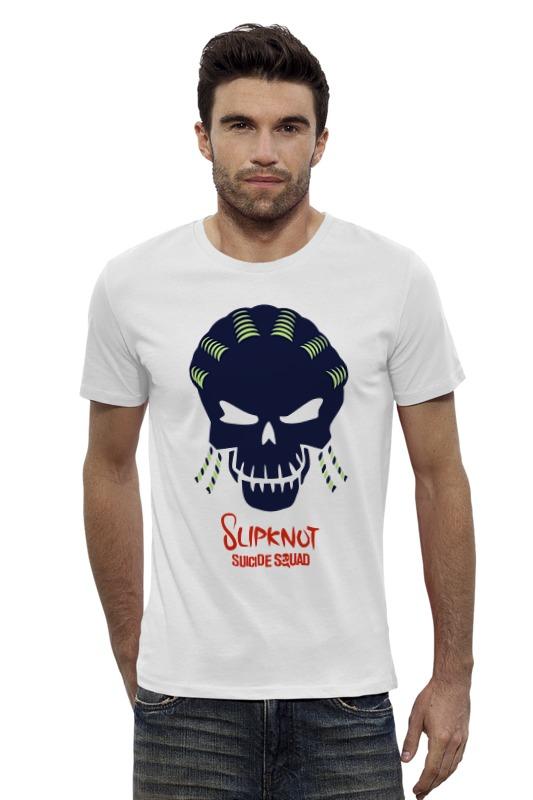 Футболка Wearcraft Premium Slim Fit Printio Слипкнот (отряд самоубийц) футболка рингер printio слипкнот  отряд самоубийц