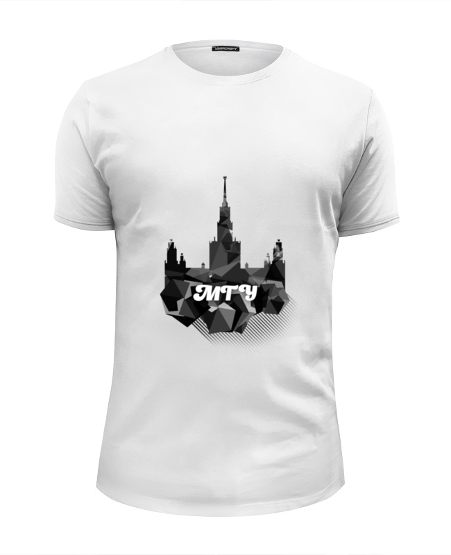 Футболка Wearcraft Premium Slim Fit Printio Мгунив футболка wearcraft premium printio мгунив