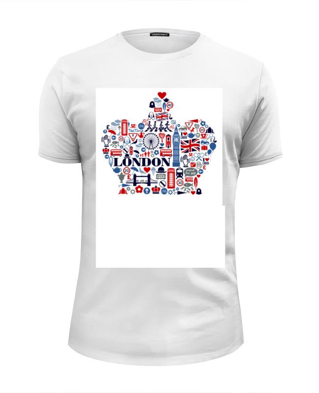Футболка Wearcraft Premium Slim Fit Printio London футболка wearcraft premium slim fit printio london irish