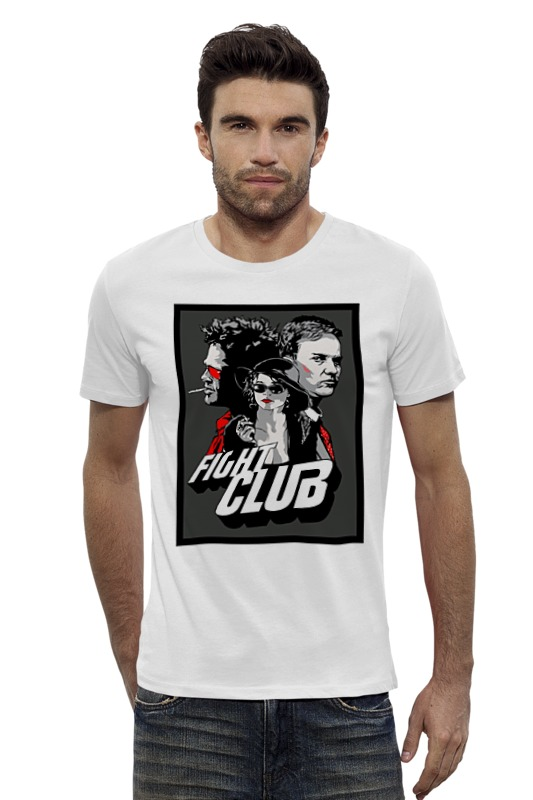Футболка Wearcraft Premium Slim Fit Printio Бойцовский клуб (fight club) футболка wearcraft premium printio бойцовский клуб fight club