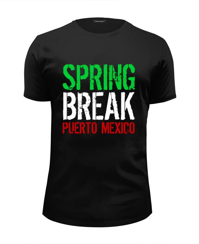 Футболка Wearcraft Premium Slim Fit Printio Spring break (мачо и ботан 3)