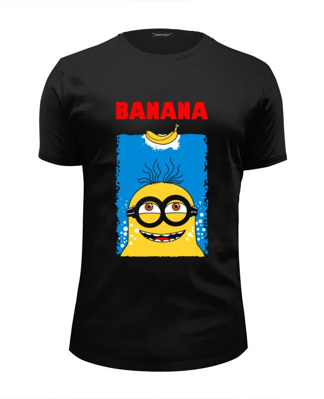 Футболка Wearcraft Premium Slim Fit Printio Banana футболка wearcraft premium slim fit printio banana миньоны