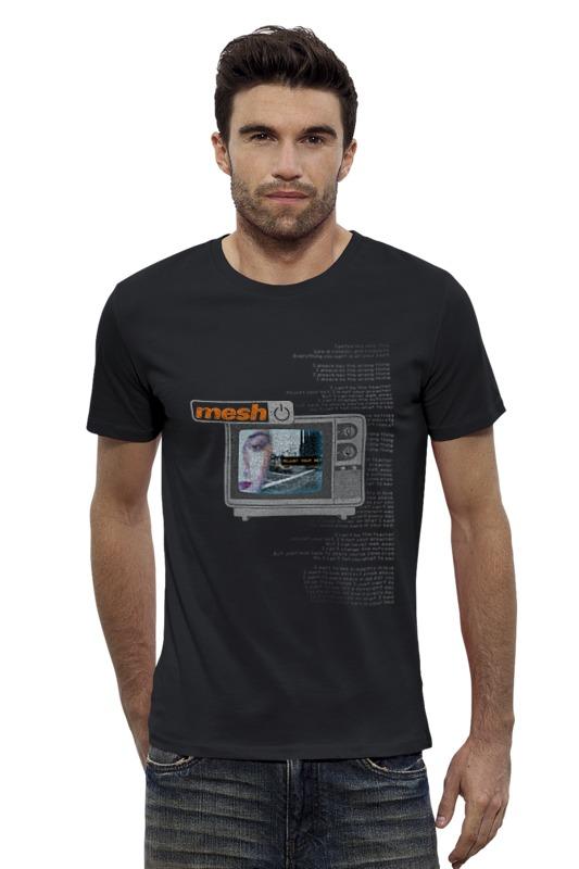 Футболка Wearcraft Premium Slim Fit Printio Mesh / adjust your set magic mesh в караганде