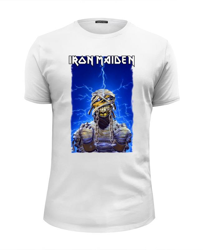 Футболка Wearcraft Premium Slim Fit Printio Iron maiden band футболка iron maiden