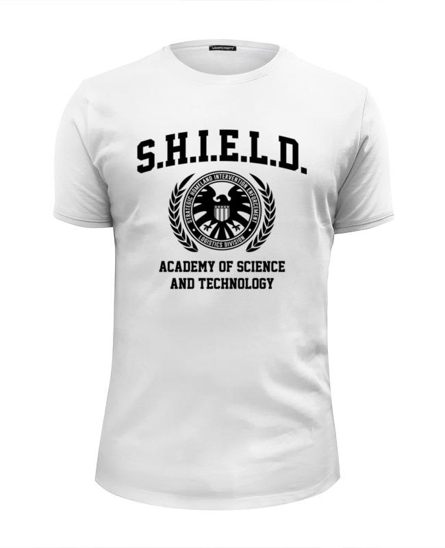 Футболка Wearcraft Premium Slim Fit Printio S.h.i.e.l.d. academy футболка wearcraft premium slim fit printio starfleet academy