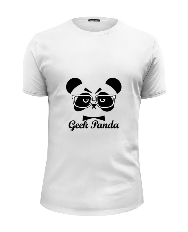 Футболка Wearcraft Premium Slim Fit Printio Панда (panda) футболка wearcraft premium slim fit printio kung fu panda