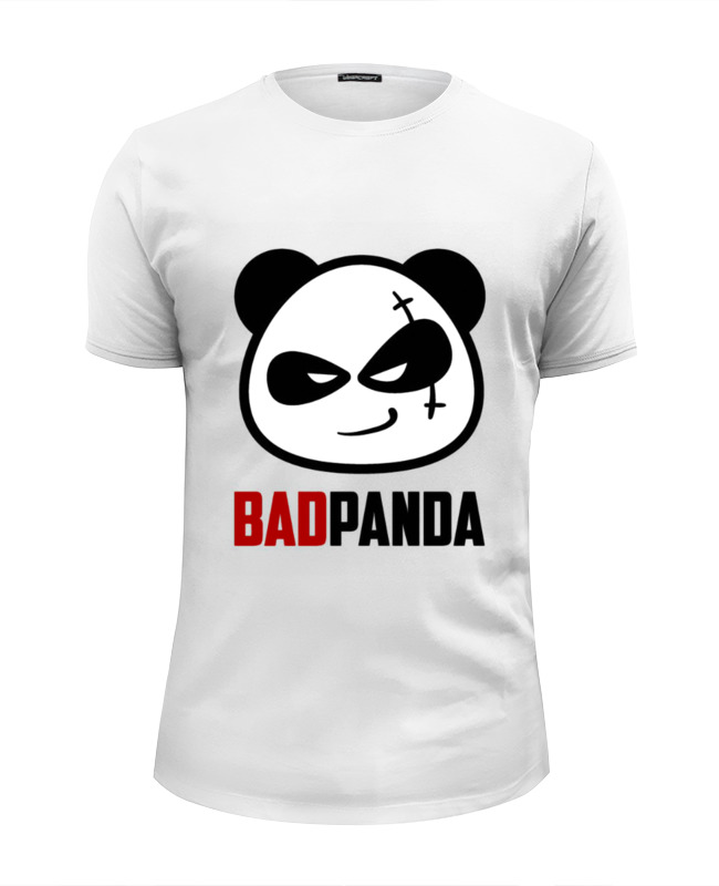 Футболка Wearcraft Premium Slim Fit Printio Bad panda футболка wearcraft premium slim fit printio panda dab