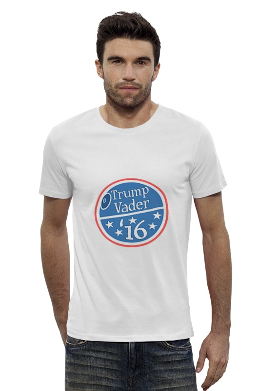 Футболка Wearcraft Premium Slim Fit Printio Трамп вейдер футболка wearcraft premium printio трамп великая россия