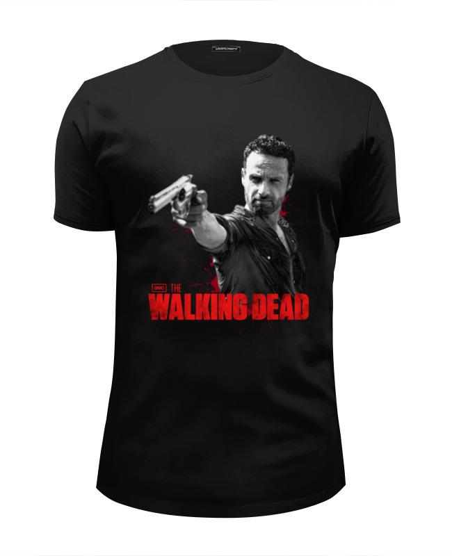 Футболка Wearcraft Premium Slim Fit Printio Walking dead футболка wearcraft premium printio dead pool