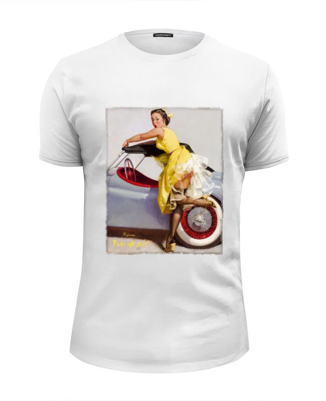 Printio Pin-up girl футболка wearcraft premium slim fit printio pin up girl