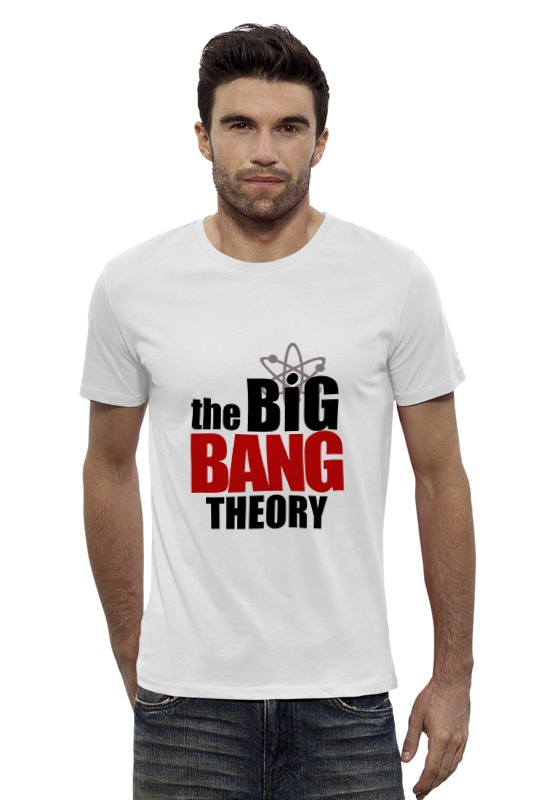 Футболка Wearcraft Premium Slim Fit Printio The big bang theory the big bang theory series the flash design cotton t shirt red size m