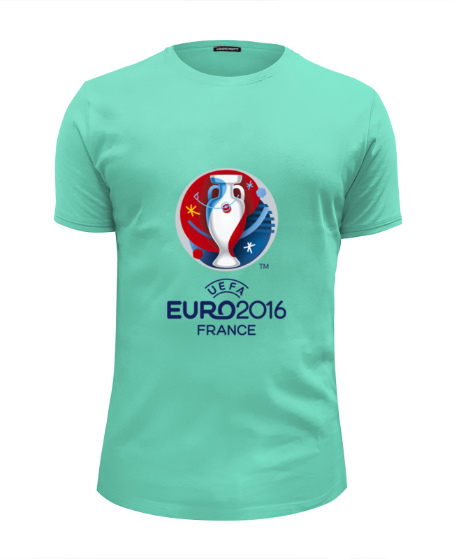 Футболка Wearcraft Premium Slim Fit Printio Euro 2016