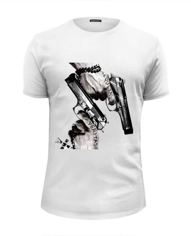 Футболка Wearcraft Premium Slim Fit Printio The boondock saints футболка wearcraft premium slim fit printio saints row игра профессор генки