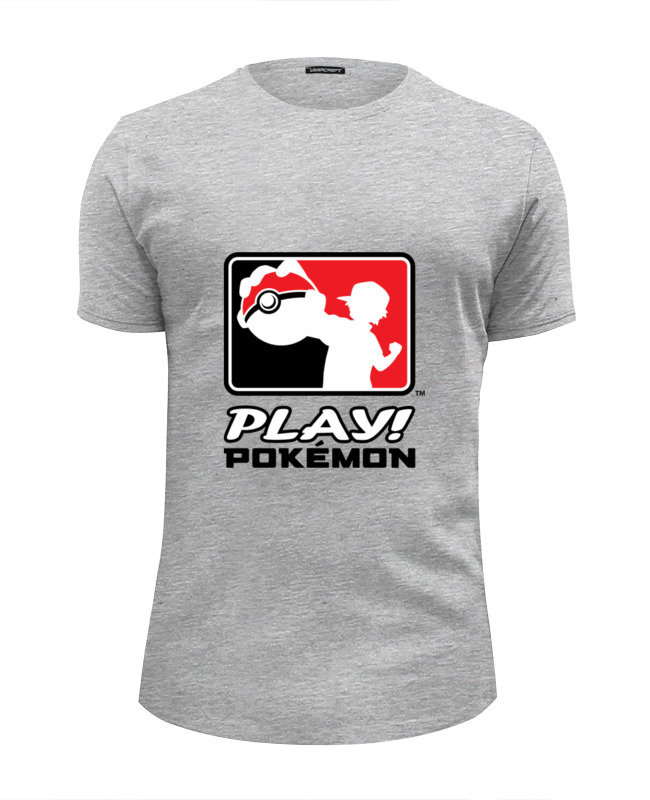 Футболка Wearcraft Premium Slim Fit Printio Play pokemon футболка wearcraft premium slim fit printio play or die
