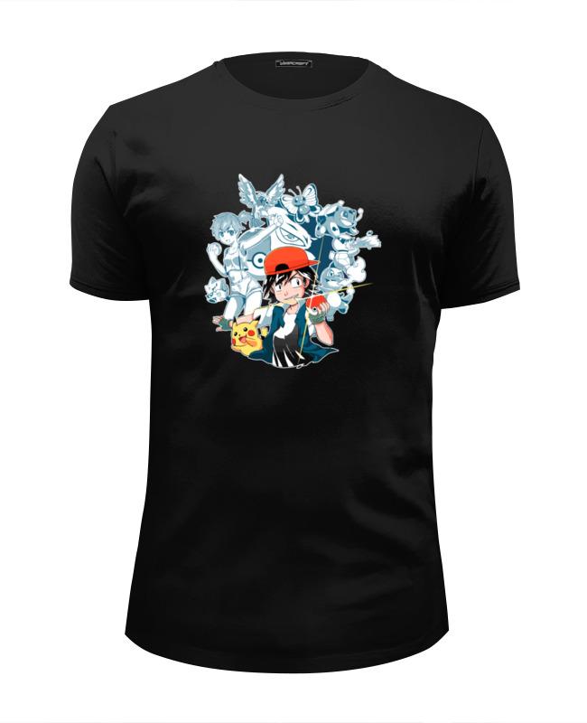 Футболка Wearcraft Premium Slim Fit Printio Жемчуг дракона (покемон) футболка wearcraft premium slim fit printio дух дракона