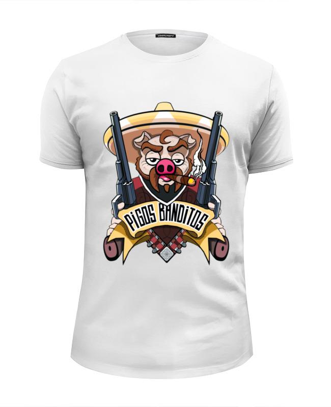Футболка Wearcraft Premium Slim Fit Printio Pigos banditos футболка wearcraft premium slim fit printio добро пожаловать