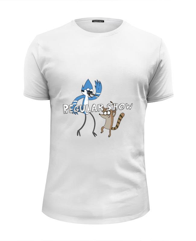 Футболка Wearcraft Premium Slim Fit Printio Regular show футболка lin show 367