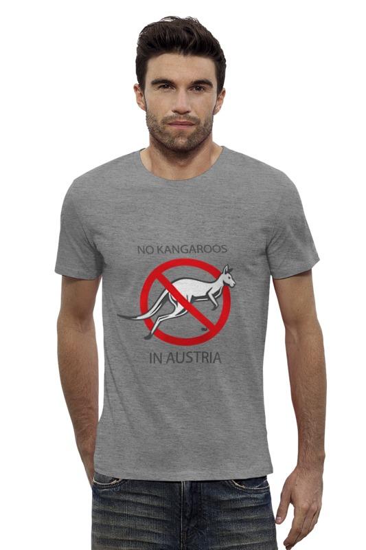 Футболка Wearcraft Premium Slim Fit Printio No kangaroos in austria футболка wearcraft premium slim fit printio нет проблем no prob llama