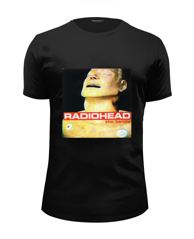 Футболка Wearcraft Premium Slim Fit Printio Radiohead album cover canon 719