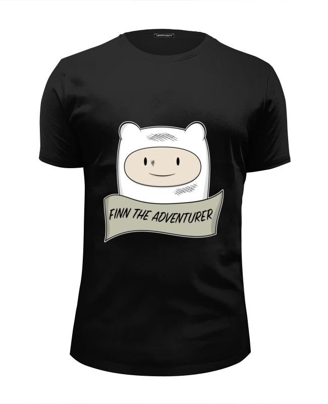 Футболка Wearcraft Premium Slim Fit Printio Время приключений (adventure time) футболка wearcraft premium printio время приключений adventure time