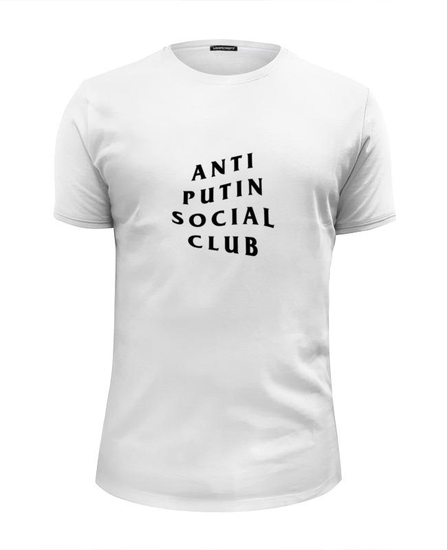 Футболка Wearcraft Premium Slim Fit Printio A p social club футболка anti social social club