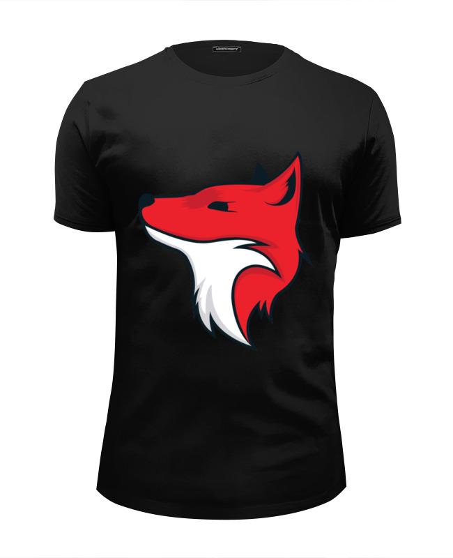 Футболка Wearcraft Premium Slim Fit Printio Fox / лиса футболка wearcraft premium printio red fox