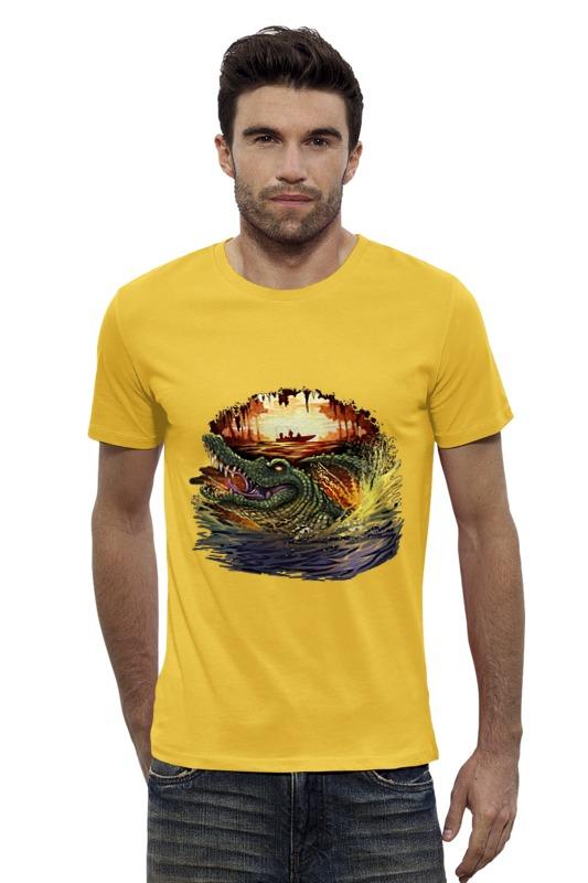 Футболка Wearcraft Premium Slim Fit Printio Крокодил футболка wearcraft premium slim fit printio vampire