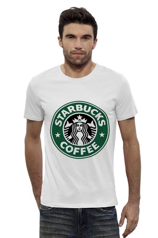 Футболка Wearcraft Premium Slim Fit Printio Starbucks coffee футболка wearcraft premium slim fit printio coffee time время кофе