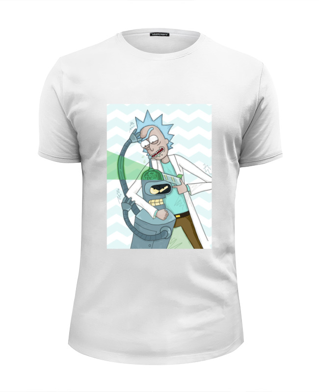 Футболка Wearcraft Premium Slim Fit Printio Рик и морти (rick and morty) футболка wearcraft premium slim fit printio rick and morty