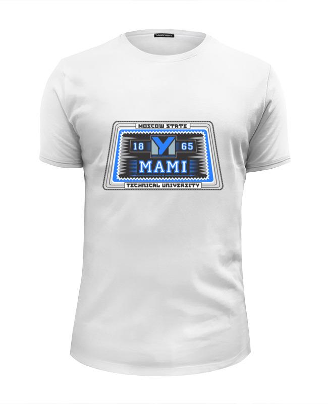 Футболка Wearcraft Premium Slim Fit Printio Мужская мами футболка рингер printio мужская мами