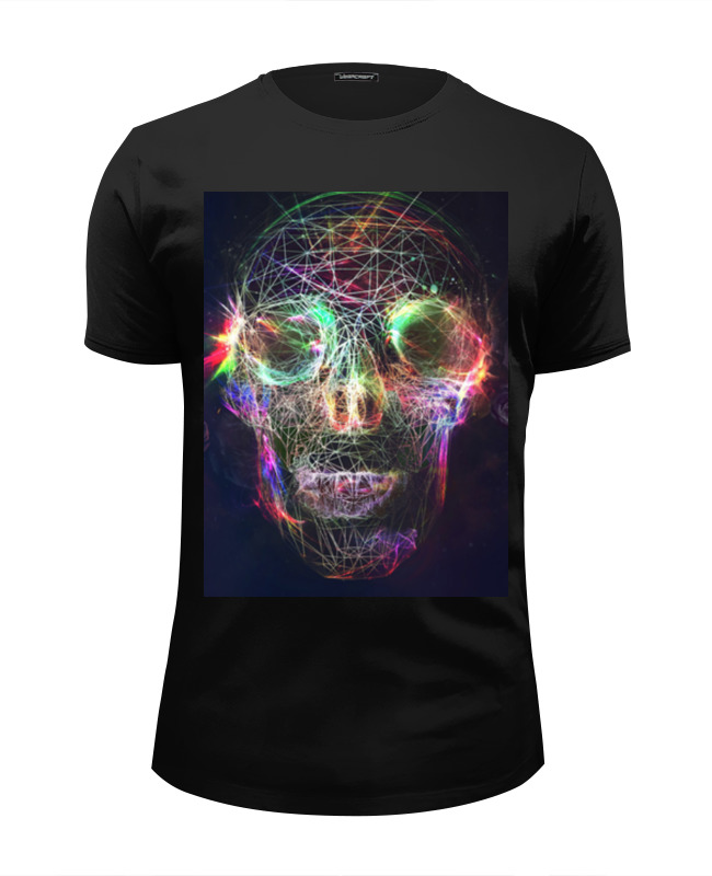 Футболка Wearcraft Premium Slim Fit Printio Skull - 17