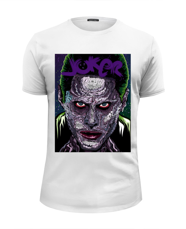 Футболка Wearcraft Premium Slim Fit Printio Отряд самоубийц / suicide squad / джокер футболка wearcraft premium printio отряд самоубийц suicide squad джокер