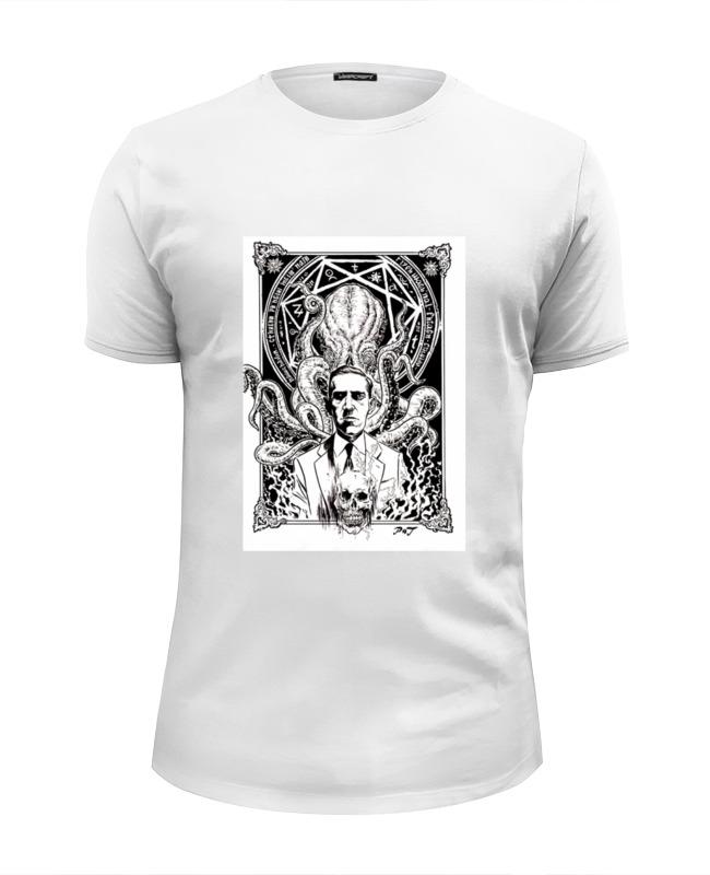 Футболка Wearcraft Premium Slim Fit Printio Howard lovecraft t-shirt футболка wearcraft premium slim fit printio howard lovecraft t shirt