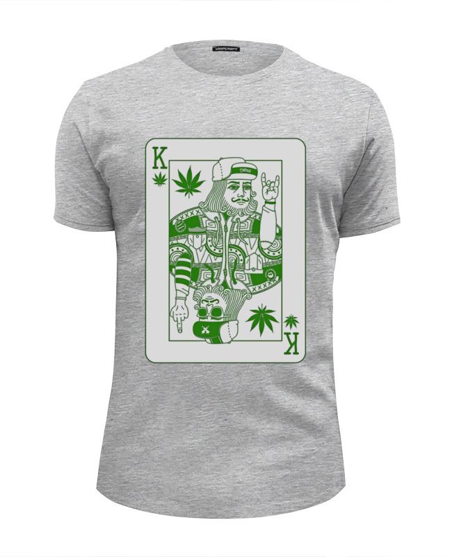 Футболка Wearcraft Premium Slim Fit Printio Травяной король футболка wearcraft premium slim fit printio король севера