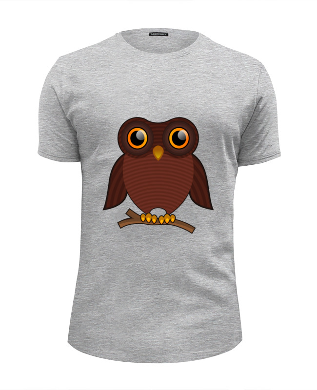 Футболка Wearcraft Premium Slim Fit Printio Совёнок футболка классическая printio футболка совёнок