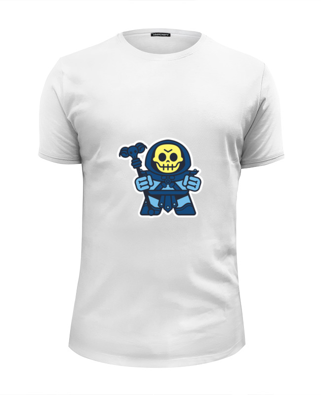 Футболка Wearcraft Premium Slim Fit Printio Скелетон (хи-мен) футболка wearcraft premium slim fit printio spider man