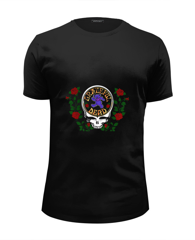 Футболка Wearcraft Premium Slim Fit Printio Grateful dead купить