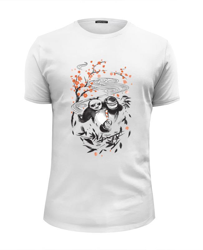 Футболка Wearcraft Premium Slim Fit Printio Панда (panda) футболка print bar the panda
