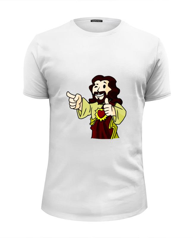 Футболка Wearcraft Premium Slim Fit Printio Иисус (фэллаут) футболка wearcraft premium printio иисус наша надежда