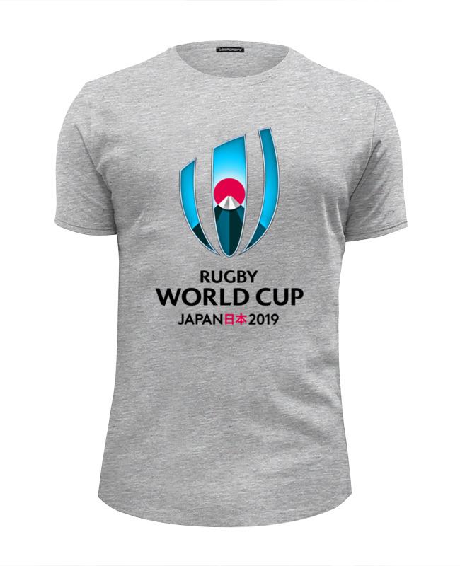 Футболка Wearcraft Premium Slim Fit Printio Кубок мира по регби в японии чемпионат мира по регби 2019 африка 1 победитель утешительного турнира