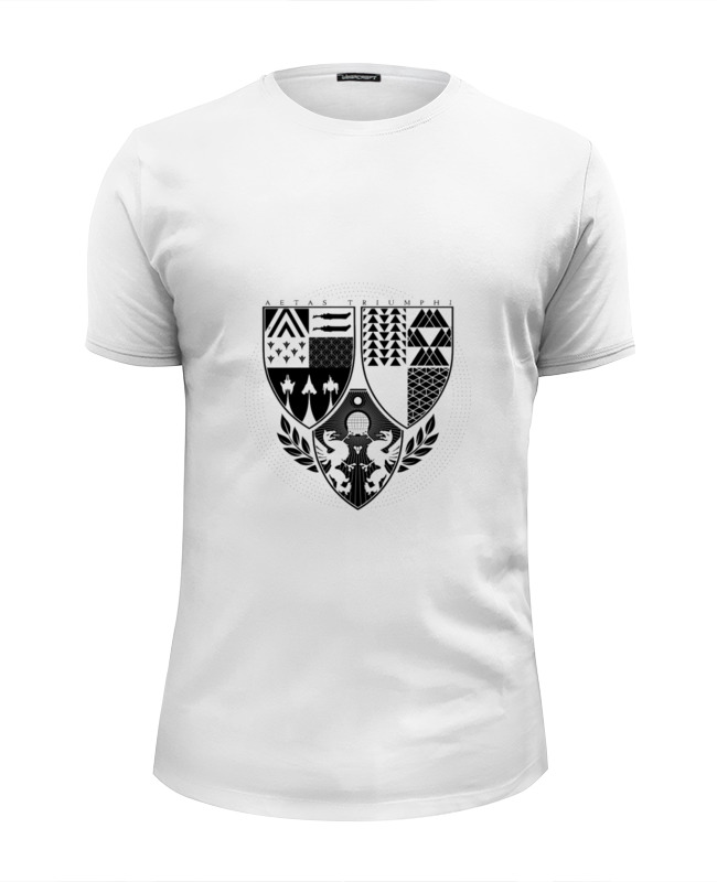 Футболка Wearcraft Premium Slim Fit Printio Age of triumph (white)